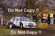 Ari Vatanen Peugeot 205 Turbo 16 Winner RAC Rally 1984 Photograph 1