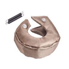 T3 Turbo Blanket Heat Shield Barrier Turbocharger Cover Wrap Titanium Lava Fiber