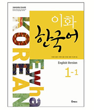 Ewha Korean 1-1 With CD Korean Language Book Korean Textbook(English Version)BTS