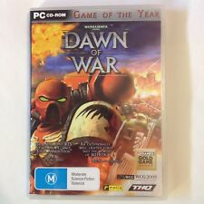 Dawn Of War - Warhammer 40,000 40k PC Windows CD-Rom Game Of The Year THQ Manual
