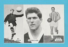 FOOTBALL - D.C. THOMSON -  CUP - TIE  STARS  OF  ALL  NATIONS  CARD  (J) -  1962