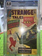 Strange Tales 117 cgc 5.0 Marvel 1964 early Doctor Strange Baron Mordo ow pgs
