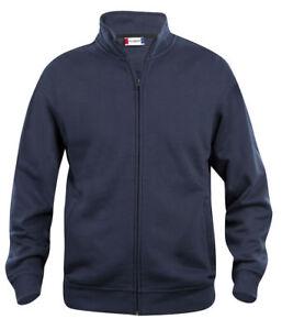 Felpa maglia cardigan uomo cotone giacca aperta taglie forti no maxfort  xs 7xl
