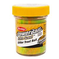 Berkley Powerbait Glitter Trout Dough Bait 1-4/5 Ounce Rainbow 1004950