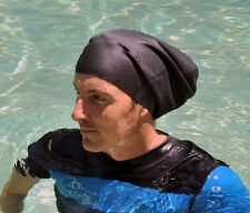 EXTRA LARGE Swim Cap for Dreadlocks & Braids + free dread band NEW & IMPROVED