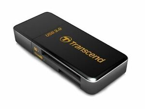 Transcend Reader F5 Black  Multi Card Reader/Writer com ctau A