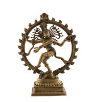 Statua Di Shiva Nataraja Danza Nataraja 6kg400 H 50cm India 1071