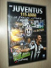 DVD OFFICIAL 115 ANNI DI STORIA LE GRANDI VITTORIE FC JUVENTUS VS INTER