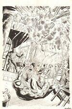 Sinister Six: You Are Spider-Man #1 Splash - Spidey vs The Shocker by Neil Vokes