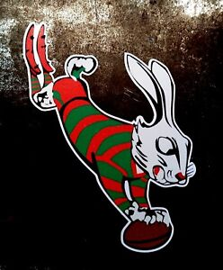 THE RABBITS Decal Sticker SOUTH SYDNEY PETROL OIL nrl RABBITOHS rugby league