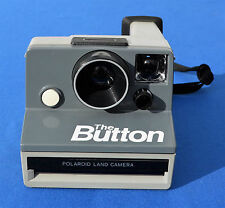 Polaroid The Button Instant Camera-SX70 Film Compatible  TESTED & WORKING! #1387
