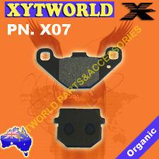 X07 Brake pads KAWASAKI ADLY AEON CAN-AM CQR COR SUZUKI