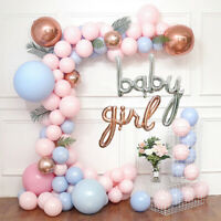 Baby Girl Gender Reveal Baby Shower Balloon Arch Decoration Kit - 100+ Balloons