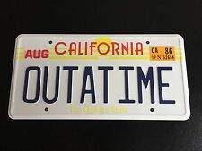Back To The Future Replica License Plate - OUTATIME