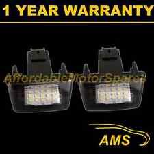 2x per PEUGEOT 206 207 306 307 308 406 407 5008 Partner LED Numero Targa Lampada
