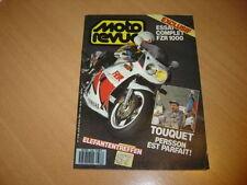Moto revue N° 2788 Yamaha FZR 1000.Comparatif trial.
