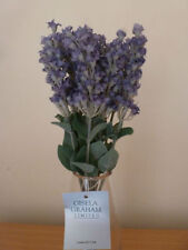 Fabric Lavender Dried & Artificial Flower Bunches