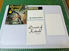 SWORD OF KADASH - APPLE II GAME - 1984 DYNAMIC / PENGUIN SOFTWARE