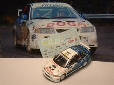 "DECAL CALCA 1/43 MITSUBISHI EVO VI ""ICO"" J.FONT - RALLY CATALUNYA 2004"