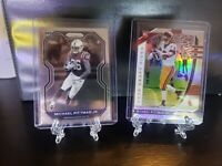 Michael Pittman Jr. Prizm RC Rookie Card Lot (2) Prizm Draft Picks & Prizm Black