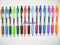 15 Colors set Pilot G2-5 Roller Ball Pen Retractable Gel Ink 0.5mm Extra Fine