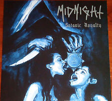 Midnight - Satanic Royalty LP - Silver Vinyl (2012) Thrash Black Metal