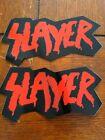 Slayer logo promo stickers God Hates Us All
