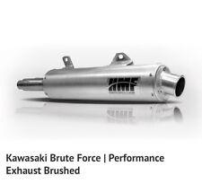 HMF Kawasaki Brute Force 2005 - 2011 650i Performance Series Slip On Exhaust