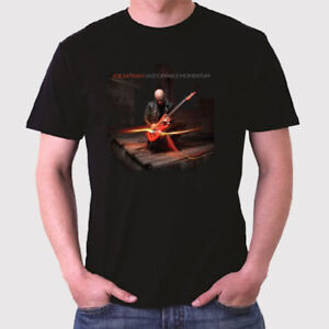 New Joe Satriani Unstoppable Momentum Men's Black T-Shirt Size S to 3XL