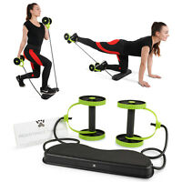 40 in 1 Portable Resistance Band Workout Fitness Exercise Machine Yoga Abs Core