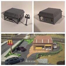DAPR -N Gauge Model Railway Scenery Building Kit-Fast Food Restaurant Diner Cafe