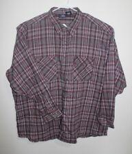 Original FiveBrother - Mens - 4xl - Flannel -  Red White Black - Plaid