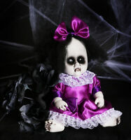 "13"" SCARY DOLL BABY HALLOWEEN DECORATION PROP REALISTIC ZOMBIE HAUNTED HORROR"