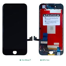 Display LCD Apple IPHONE 7 Retina Glass Disc Screen 3D Black