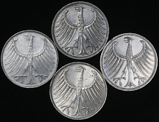 Germany Collection Lot of 4 Silver Coins Deutsche Mark 1971-74 KM: # 112