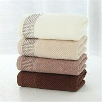 Soft Cotton Face Towel for Adults Bathroom Super Absorbent Thick Towels 34x76cm