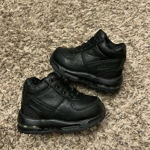 Nike ACG Air Max Goadome Black Leather 2013 Boots Size Baby Size 5C