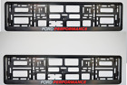 2 x CAR Number Plate Surround Frames Best fits tech FORD PERFORMANCE £14.29