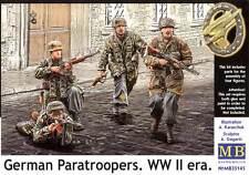 Masterbox Alemán Paratroopers PARACAIDISTAS Pieza Insertada 1 :3 5 Modelo Kit