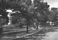 * Acquasparta ( Umbria ) : Mon.ai Caduti e Viale della Fonte * Viaggiata 1952
