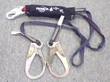 Protecta PRO Twin 6Ft. Lanyard w/ Rebar Hooks with Kevlar® fiber webbing 1340185