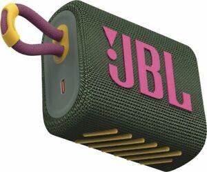 JBL Go 3 Grün, Portabler Lautsprecher,Bluetooth