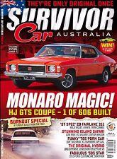 LIMITED STOCK - SURVIVOR CAR AUSTRALIA FALCON GT MONARO GTS CHARGER RT ISSUE 18