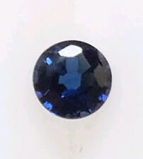 🔥🔥 5 PCS NATURAL BLUE SAPPHIRE 3 MM ROUND FACETED CUT LOOSE GEMSTONE AA