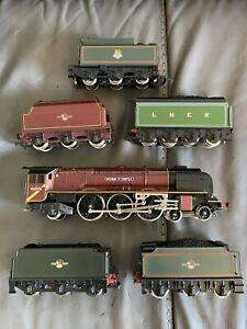 Vintage Hornby Various Train and Tenders Mixed Lot , Untested