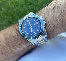 Orologio Watch Pryngeps Submariner Diver Sub Automatic Date Anni 80 Vintage