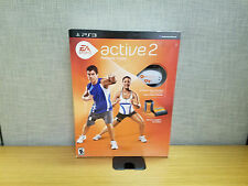 Sony Playstation 3 EA Sports Active 2 Personal Trainer set with weights, new!