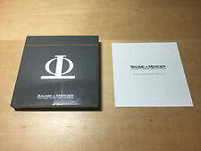 BAUME & MERCIER - Instructions Manual and International Service - For Collectors