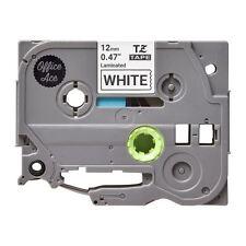 Compatible Brother TZ-231 P-Touch Negro sobre Blanco Etiqueta Cinta 12mm X 8m TZE-231