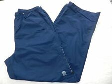 MENS blue ATHLETIC lightweight running PANTS = NIKE = SIZE LARGE - ss16